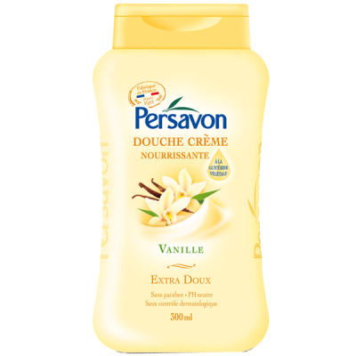 Sữa tắm trắng da Persavon Douche Creme Vanille 300ml - Pháp