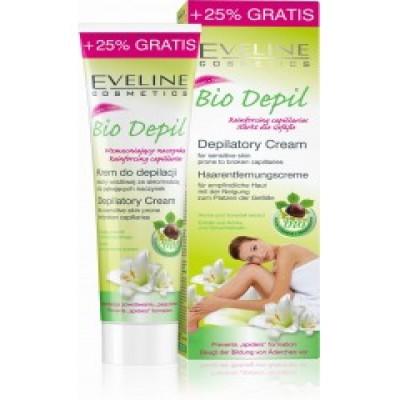 Kem tẩy lông hữu cơ dành cho da nhạy cảm Bio Depil Eveline