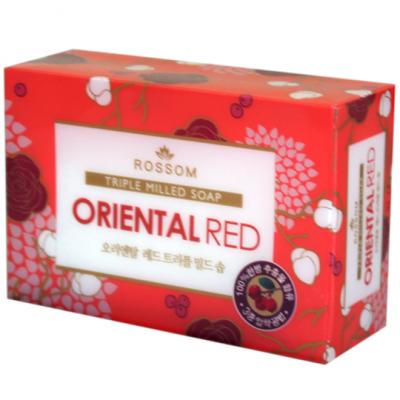 Xà phòng Rossom Oriental Red Triple Milled Soap 90g - Hàn Quốc