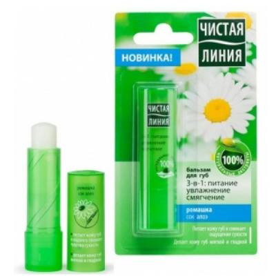 Son dưỡng không màu chống nẻ môi  Pure Line - Nga