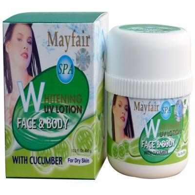 Kem dưỡng trắng da UV dưa leo Mayfair 400g (B019)
