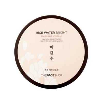 Kem Matxa THEFACESHOP Rice Water Bright Massage Cream Hàn Quốc