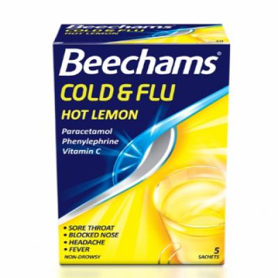 Viên C sủi trị nóng, lạnh Beechams từ Anh