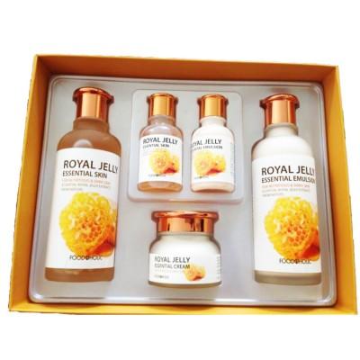 Bộ dưỡng trắng da Sữa Ong Chúa Foodaholic Royal Jelly Essential Skin Care Set - Hàn Quốc