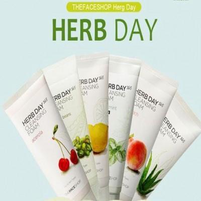 Sữa rửa mặt Herb Day TheFaceShop Hàn Quốc