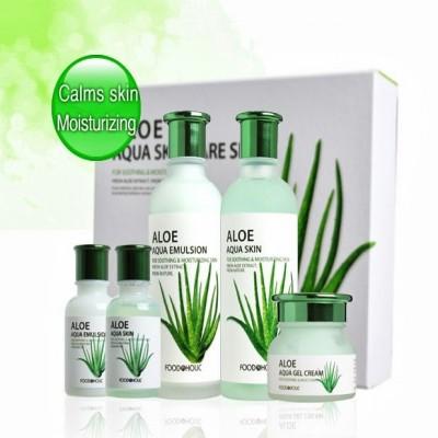 Bộ dưỡng da Lô Hội Aloe Aqua Skin Care Set Hàn Quốc
