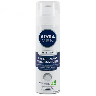 Bọt cạo râu Nivea Men Sensitive - Đức