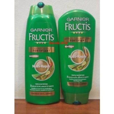 Dầu gội và dầu xả Fructis dành cho tóc khô và hư tổn