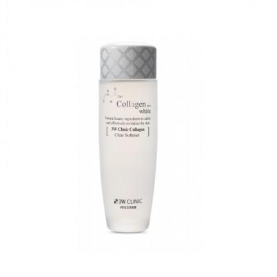 Nước hoa hồng sạch da 3W Clinic Collagen White 150ml- Hàn Quốc