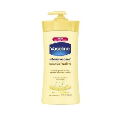 Kem dưỡng thể Vaseline Intensive Care Essential Healing 600ml