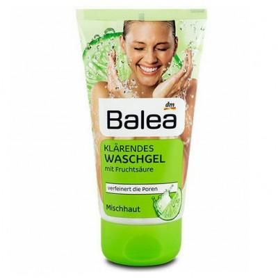 Sữa rửa mặt Balea hương chanh dành cho da hỗn hợp 150ml