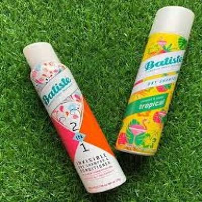 Dầu Gội Khô Batiste Dry Shampoo Orange 2in1 200ml