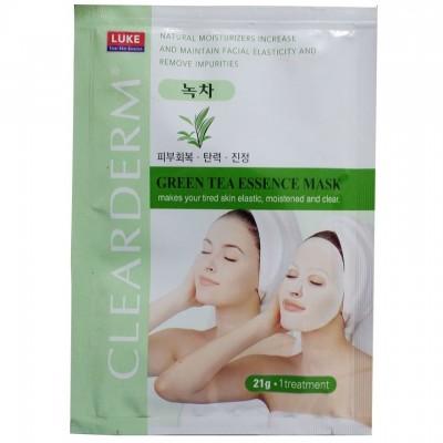 Mặt nạ trà xanh Green Tea Essence Mask Hàn Quốc
