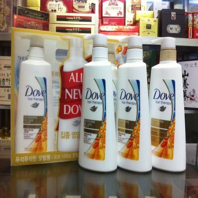 Dầu Gội, xả Dưỡng Tóc All New Dove - Nourishing oil care dành cho tóc dầu